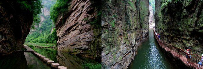 中国最美的40个旅游景点 – 河南龙潭大峡谷