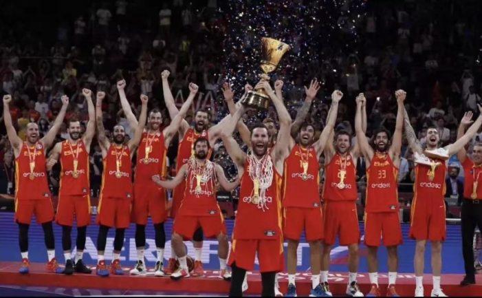 95比75!西班牙男篮勇夺世界杯冠军