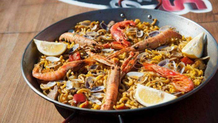 西班牙海鲜面 FIDEUA