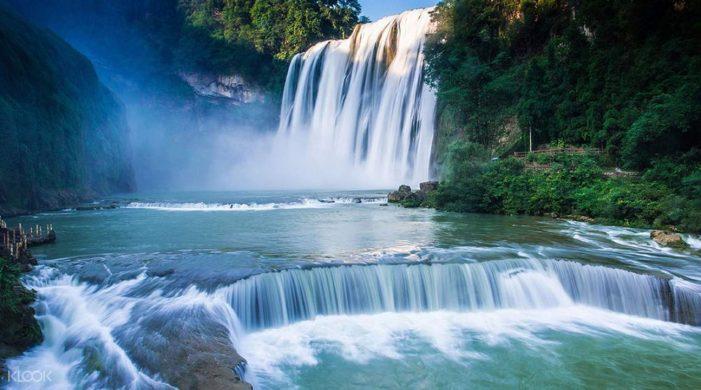中国最美的40个旅游景点 – 贵州黄果树瀑布