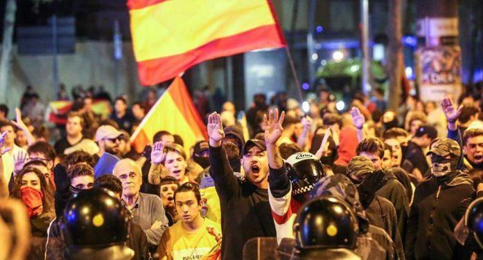 西班牙政府表示对暴力行为决不姑息