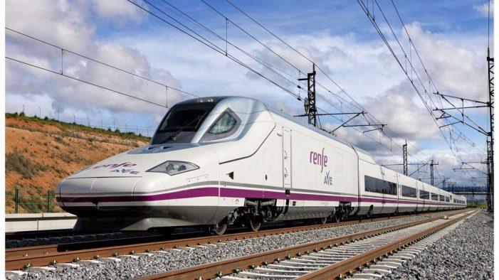 西班牙开设高铁新路线 华人城市间往来有了新选择