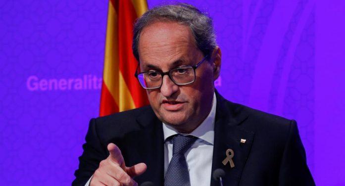 西班牙加泰罗尼亚自治区主席表示还将推动新的独立公投