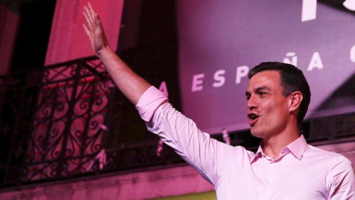"""西班牙工人社会党与""""我们能""""党欲组联合政府"""