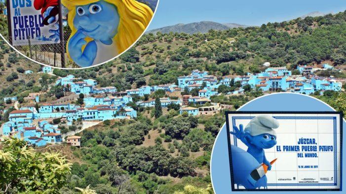 西班牙胡斯卡镇(Juzcar),如何成为蓝精灵的故乡