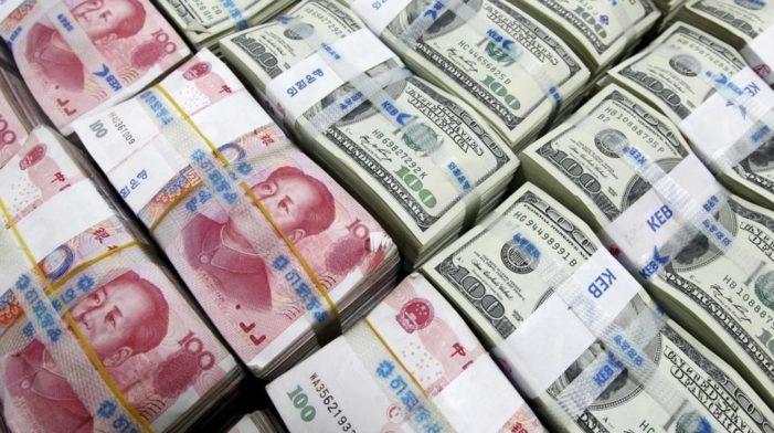 """中国下令银行大规模回笼现金 国家""""洗钱""""防疫"""