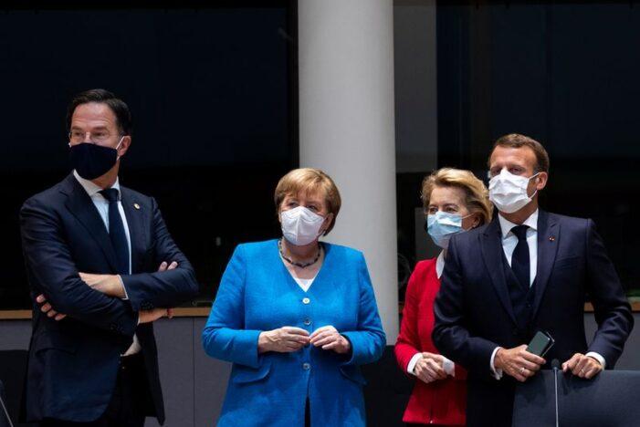 欧盟峰会讨论抗疫财援 长达数时尚无结果